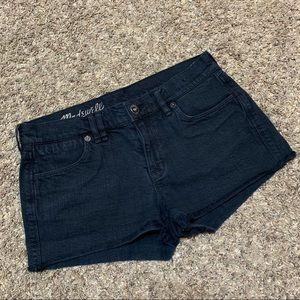 Madewell Raw Hem Denim Shorts Size 26